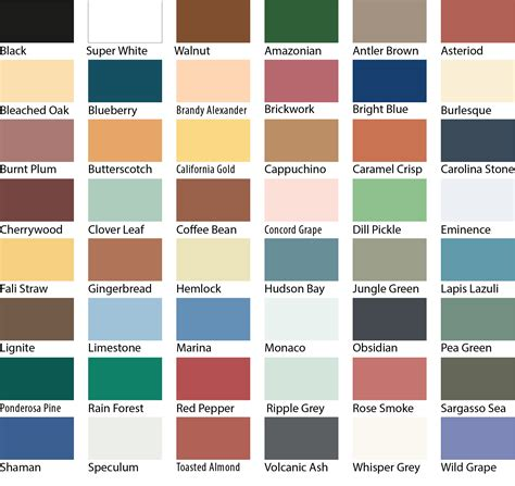 sherwin williams paint colors exterior ideas 1965 exterior paint color charts interior