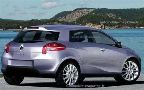 Rendering   India bound next generation Renault Clio