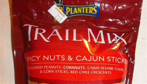 Planters Cajun Trail Mix by Eatin Spicy Chips Snack 134 Planters Trail Mix Spicy Nuts Cajun Sticks