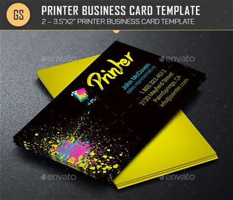 Service Card Template by 14 It Services Business Card Templates Free Printable