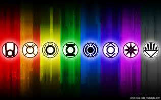 lantern corps colors only green and yellow or all the colors on the lantern