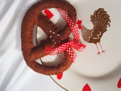 giochi di cucina natalizia bretzel al sale feltro decorazione natalizia ma anche per