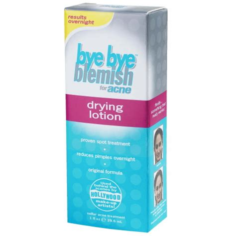 Bye Bye Blemish Drying Lotion 29ml bye bye blemish for acne drying lotion results overnight