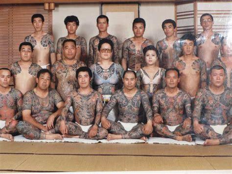 yakuza wife tattoo picture of the day yakuza family portrait 171 twistedsifter