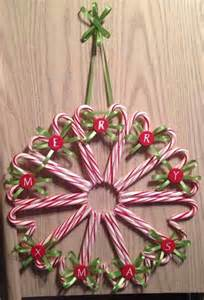 Candy cane wreath christmas crafts ideas for classroom pinterest