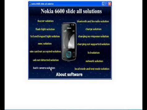 nokia 2690 all solutions youtube nokia 6600 slide all solution youtube