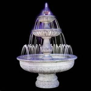 gartenbrunnen mit beleuchtung springbrunnen mit pumpe und beleuchtung italienischer