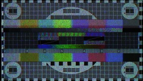 test pattern noise tv test pattern stock footage video shutterstock