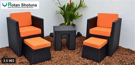 Sofa Rotan Jakarta kursi sofa rotan sintetis rotan sholuna furniture