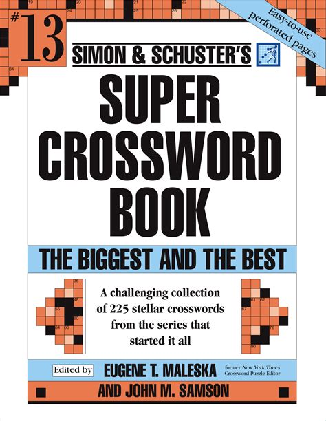 the cross word and sacrament books simon and schuster crossword puzzle book 13 book