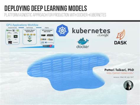 docker deep learning deploying deep learning models with docker and kubernetes