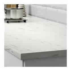 Ikea Marble Countertops ekbacken worktop white marble effect 246x2 8 cm ikea