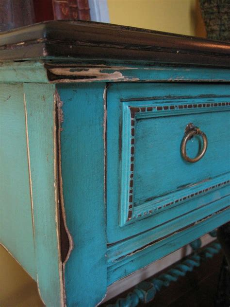 Shabby Chic Turquoise Dresser by 17 Best Ideas About Distressed Turquoise Furniture On