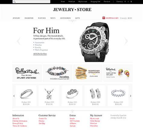 Jewellery Website Templates Jewellery Web Templates