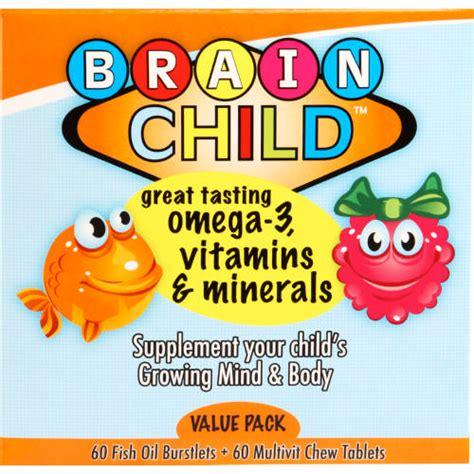 Brain Child brain child omega 3 vitamins minerals 60 fish