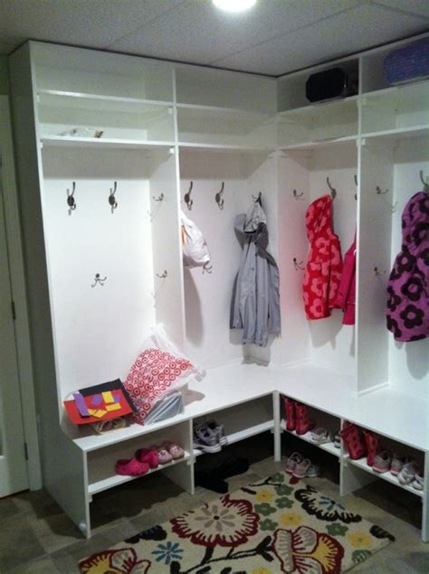 corner mudroom bench 27 best ideas about small corner mudroom on pinterest corner wall storage shelves