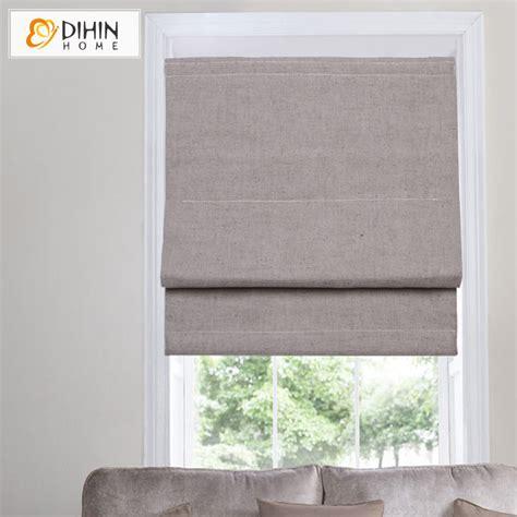 jalousie vorhang dihin home cotton linen blackout curtain blinds