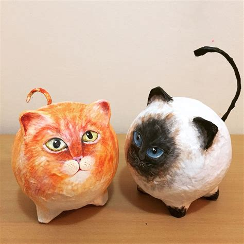 And Craft With Paper Mache - cats paper mache paper mache paper mache