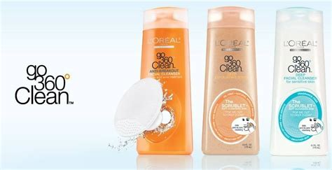 L Oreal Clean Exfoliating Scrub l oreal go 360 clean cleansing