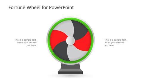 Fortune Wheel Powerpoint Template Slidemodel Wheel Of Fortune Powerpoint Template