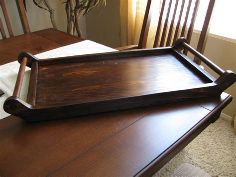 serving tray plans plans diy   simple wood