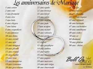 voil 224 le calendrier des anniversaires de mariage by bell or cr 233 ateur joaillier divers