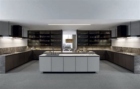 poliform arredamenti varenna arthena kitchen by poliform kontaktmag