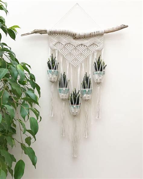 Macrame Patterns For Plant Hangers - best 25 crochet plant hanger ideas on plant