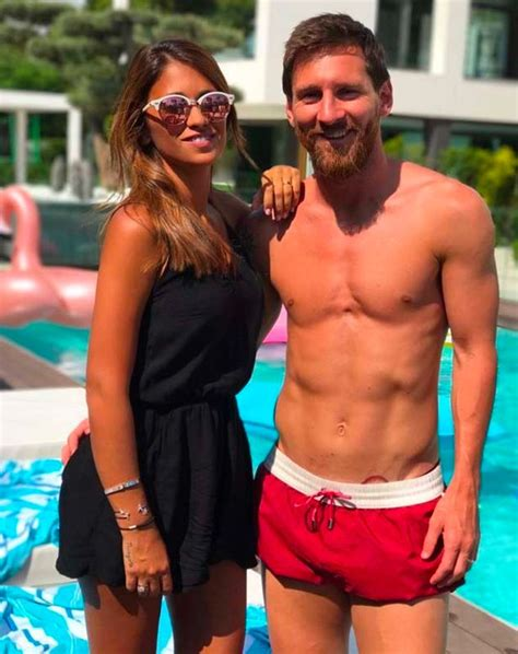 messi third tattoo lionel messi makes it a hat trick as wife antonella