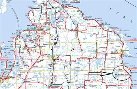 map of northern mi map of northern michigan my