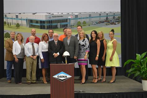 press release dana axle breaks ground at the former jeep