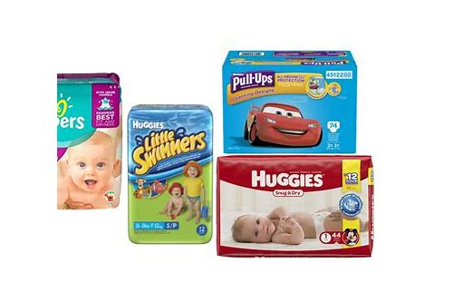 coupon deals on diapers