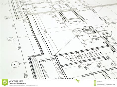 floor sketch drawing a floor plan of the building stock photo image