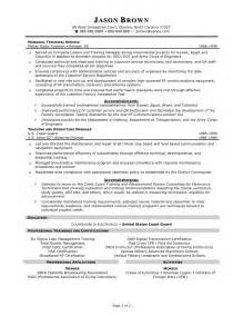 Resume Exles For Service Manager Customer Service Resume Resume Cv
