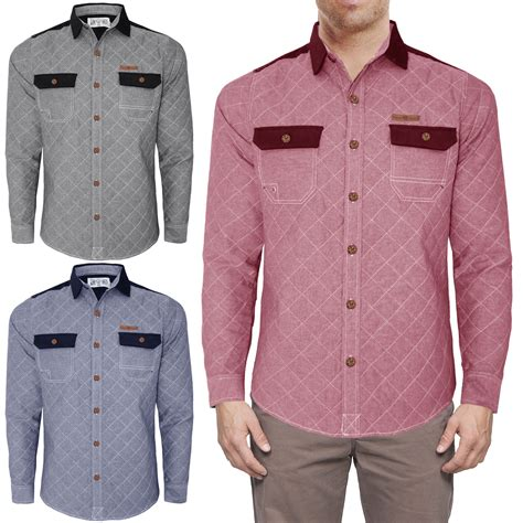 Quilted Shirt Mens by New Mens Tokyo Tigers Quilted Shirt Shoulder Patch