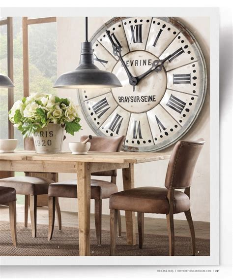 Living Room Clocks by Large Clock In Dining Room Living Room Spiration