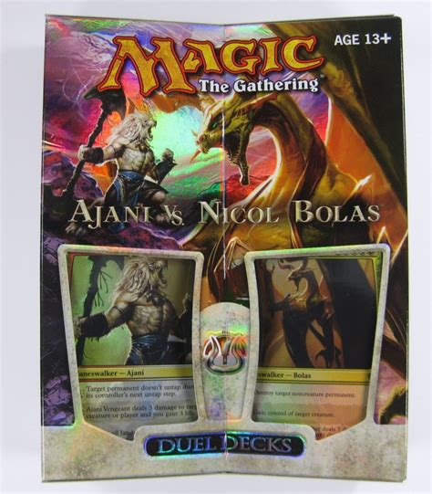 magic decks kaufen mtg magic duel decks ajani vs nicol bolas englisch ebay