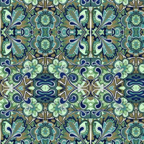 if pennsylvania dutch drew paisley fabric edsel2084