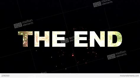 End Of by The End Fireworks 02 Stock Animation 2292503