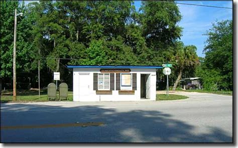 Ferndale Post Office by Green Mountain Scenic Byway Florida Scenic Byways