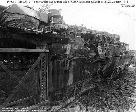 boat salvage yards nevada salvage of uss oklahoma 1942 1944 part ii