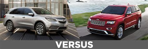 jeep acura what is the difference between the 2016 honda crv and the