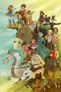 Studio Ghibli Movies by Studio Ghibli B M Green