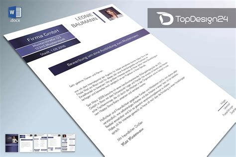 Bewerbung Email Docx Initiativbewerbung Muster 2016 Topdesign24