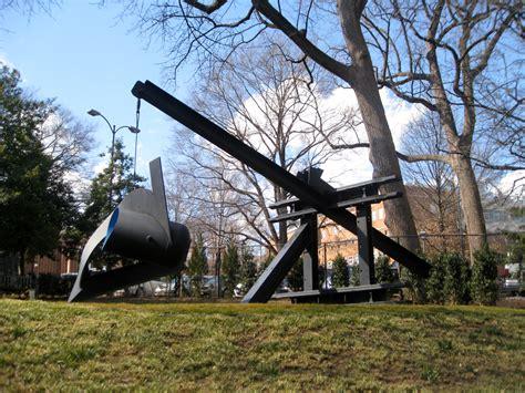 strolling through the expansive sculpture garden at the - Baltimore Museum Of Sculpture Garden