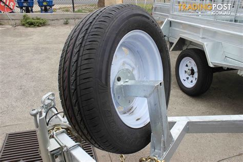 boat trailer spare wheel mount trailer spare wheel bracket for 6x4 and 8x5 models for