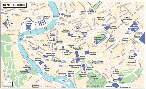 political map of rome map of rome rome travel map rome political map