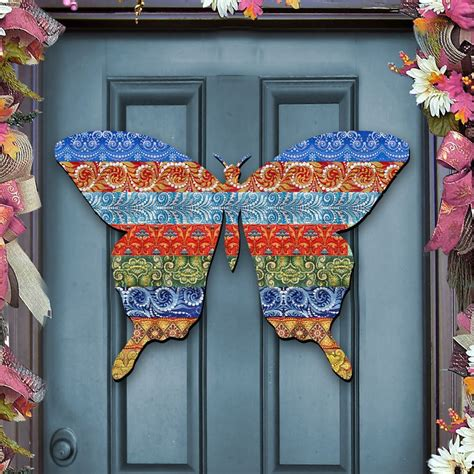 Wooden Door Hanger Patterns by Easter Butterfly Quilt Pattern Wooden Decorative