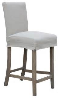 Slip Covers For Bar Stools 24 Quot Counterstool With Slipcover Contemporary Bar