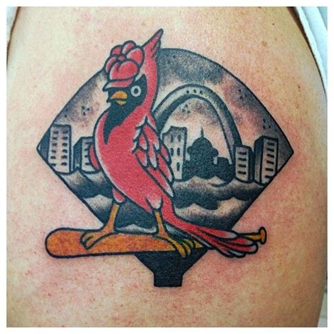 st louis tattoo designs 20 best st louis cardinals tattoos images on